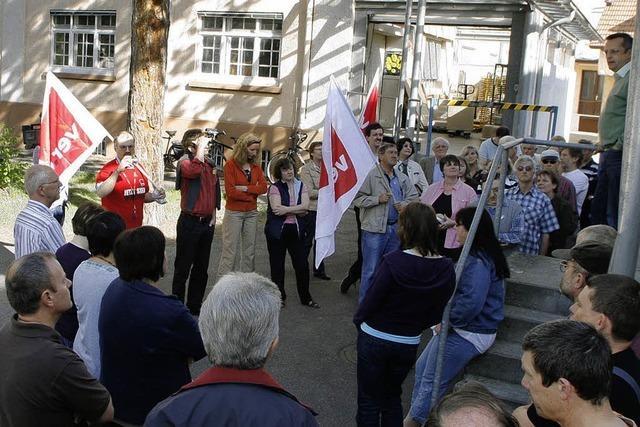 Protest im Haus Johannis