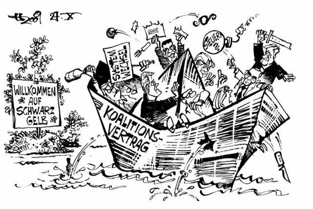WIR ÜBER UNS: Preiswürdige Karikaturen