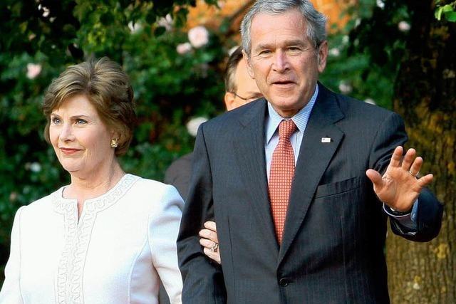 Appetithäppchen aus Laura Bushs Erinnerungen