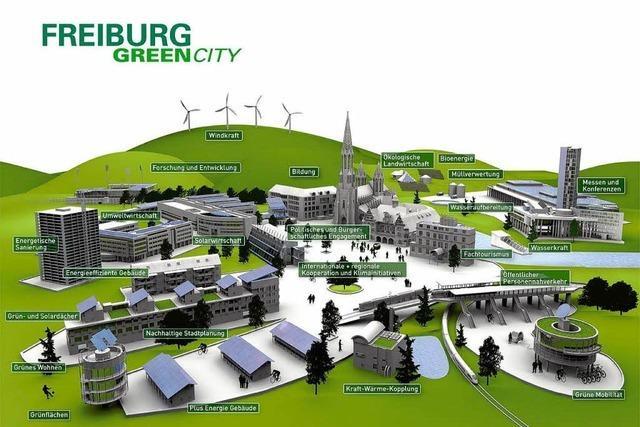 Freiburg auf der Expo: Green City – grüner wird's nicht