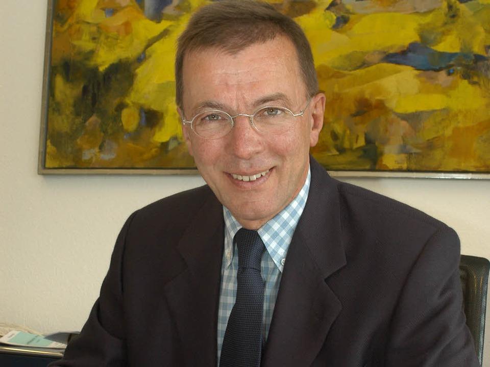 Eberhard Schockenhoff muss sich einer ...anzeige der Piusbrüderschaft erwehren.    Foto: Thomas Kunz