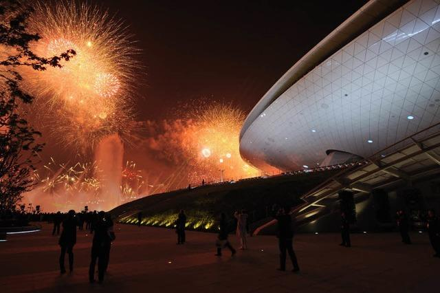 Expo 2010: In Shanghai eröffnet größte Weltausstellung