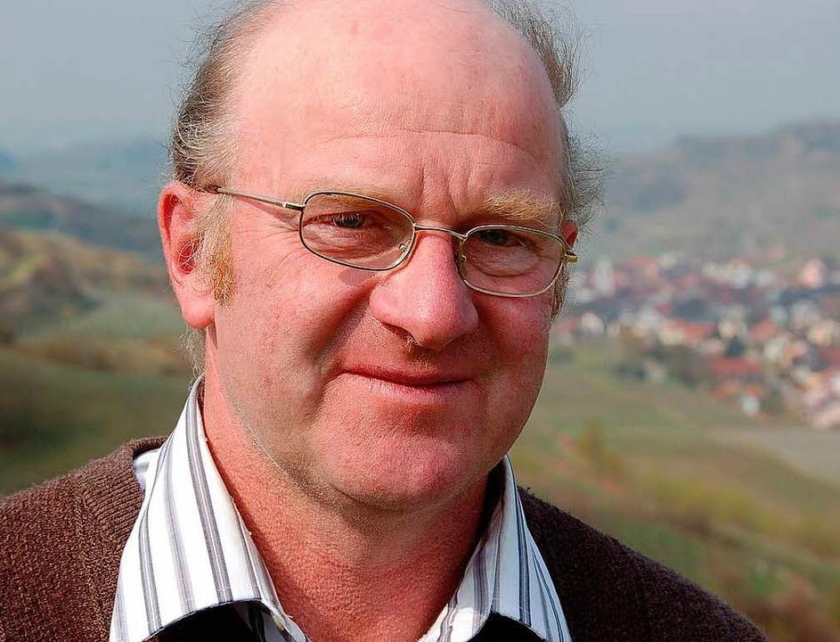 Der neue Präsident des Badischen Weinbauverbands: Kilian Schneider    Foto: Gerold Zink