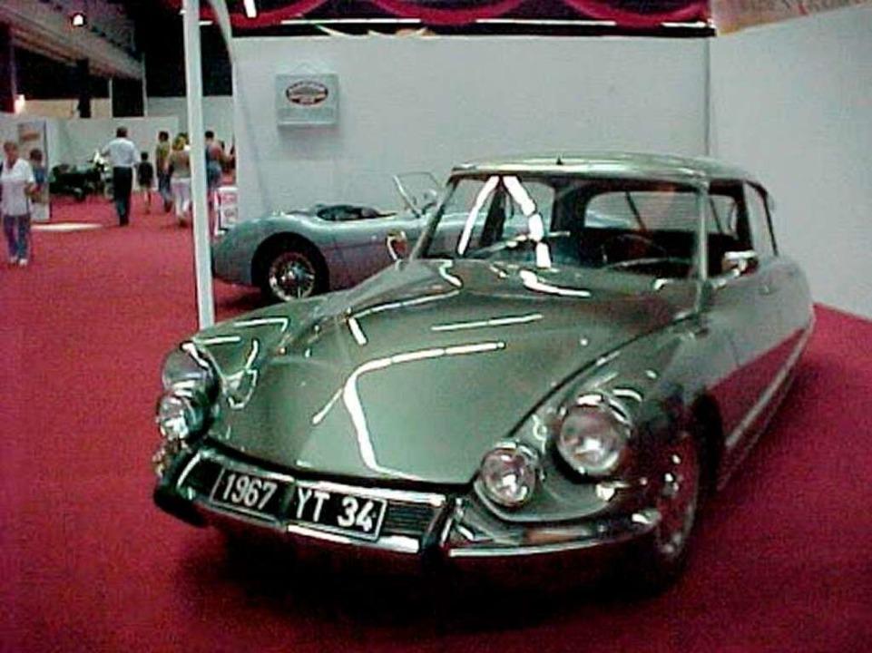 Ein Citroen DS von 1967 nach der Restaurierung.  | Foto: Holm
