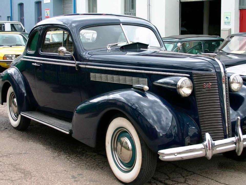 Ein Buick Special Coupé von 1937.  | Foto: Autowerkstatt Holm