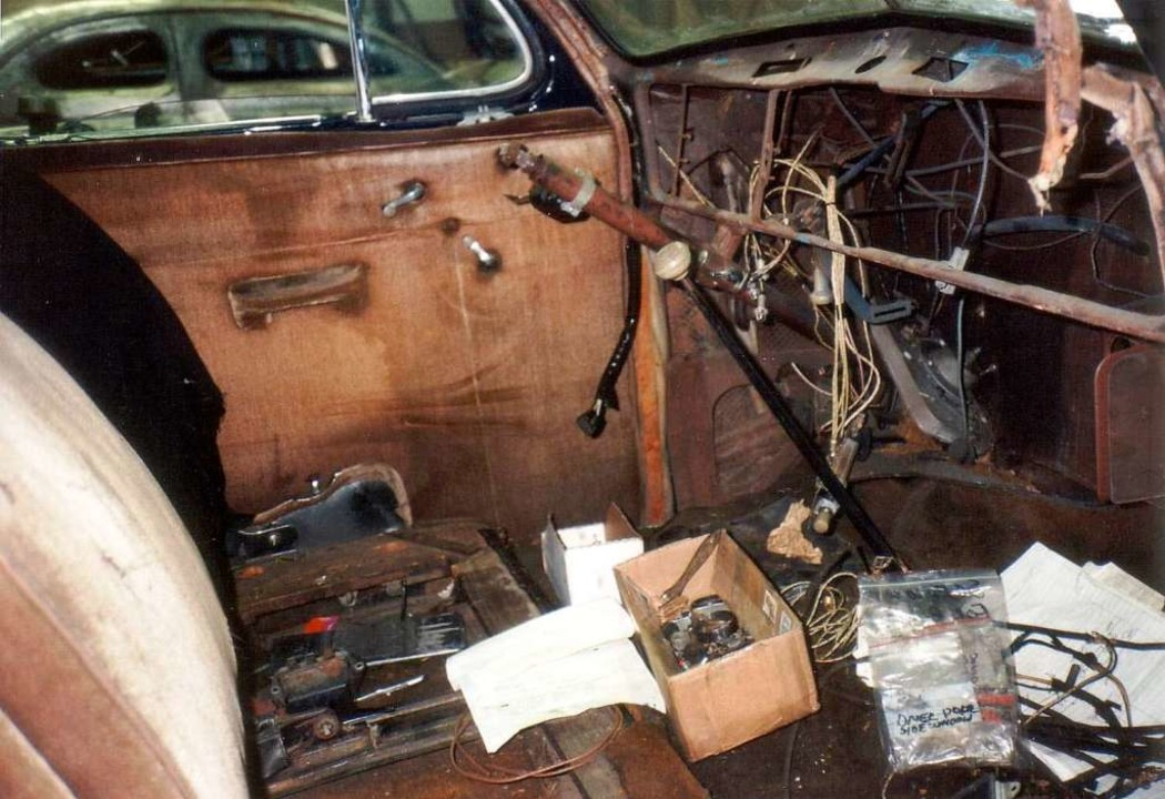 Der Buick vor der Restaurierung.  | Foto: Autowerkstatt Holm