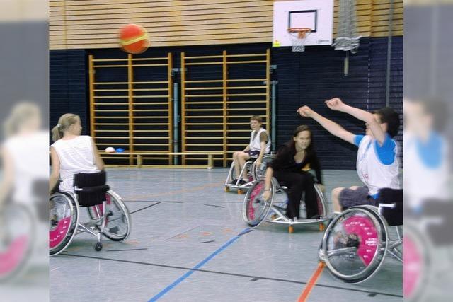Behindertensport-Projekt für gesunde Schüler