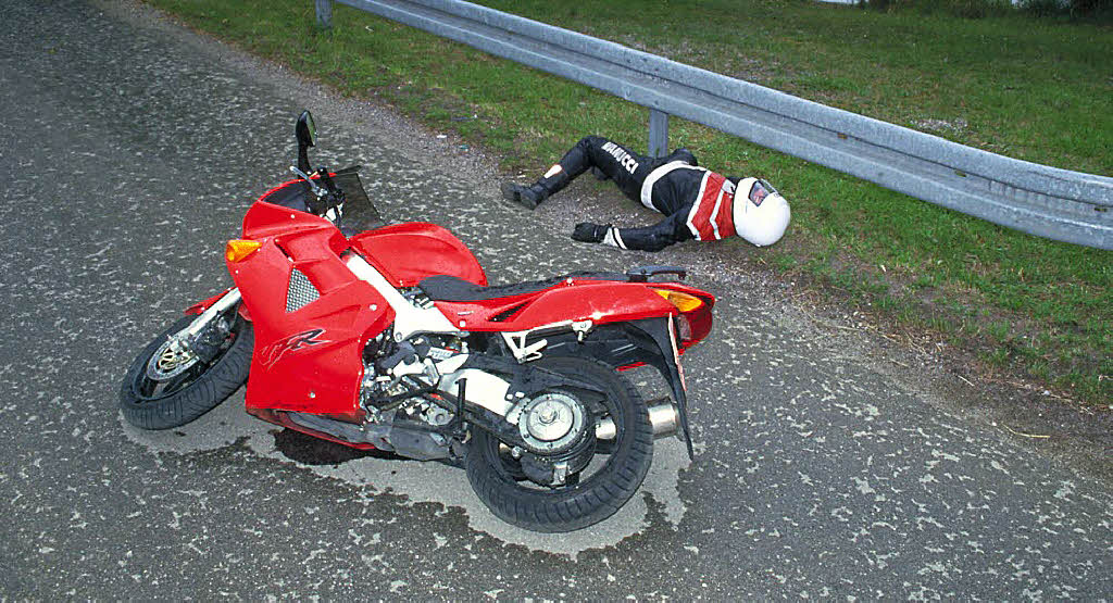 Motorrad Fahren Bei Ausgangssperre