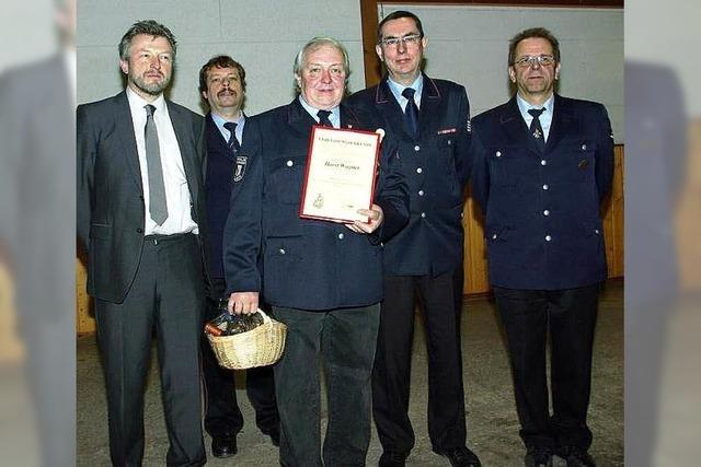 Feuerwehrstruktur bleibt ein Thema