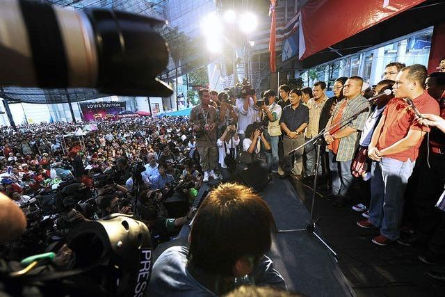 Ende der Krise in Thailand in Sicht