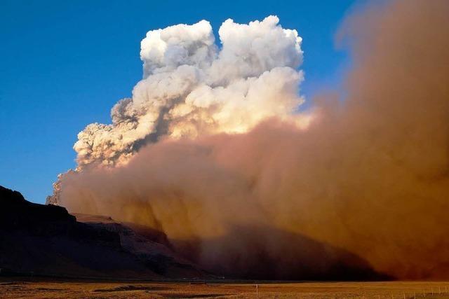Notfallplan bei Aschewolken