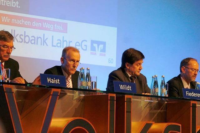 Volksbank Lahr stellt personelle Weichen