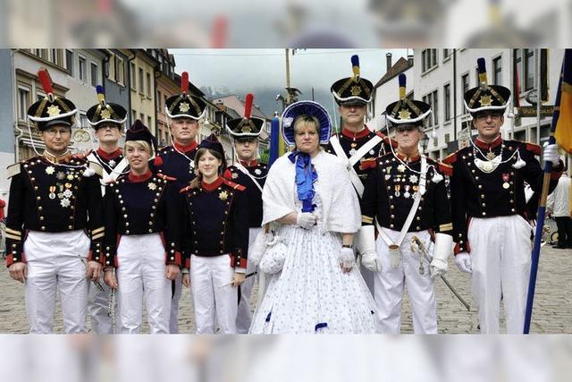 Feierliches Zeremoniell der Bürgerwehr