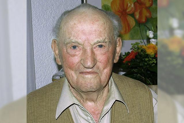 Alfred Bühler wurde 85 Jahre