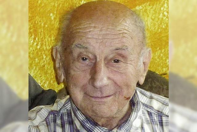 Eugen Bär wurde 80 Jahre