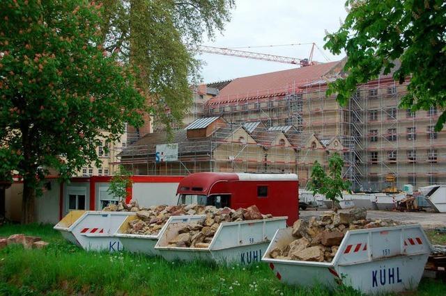 Spinnerei-Gelände: Den Charme des Alten nutzen
