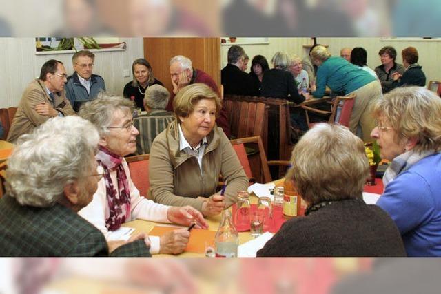 Frischer Wind bei Senioren