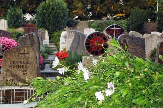 Der Friedhof ist groß genug