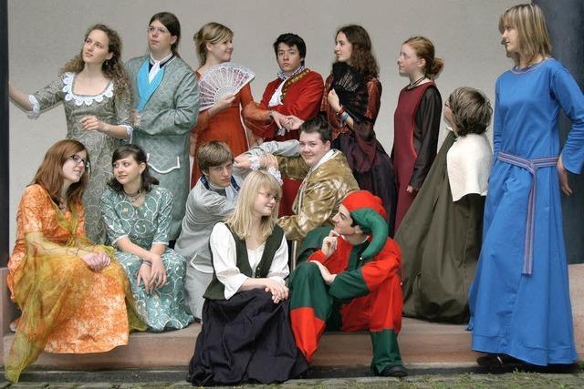 Grimmels Theater-AG: Die ganze Welt ist Bühne