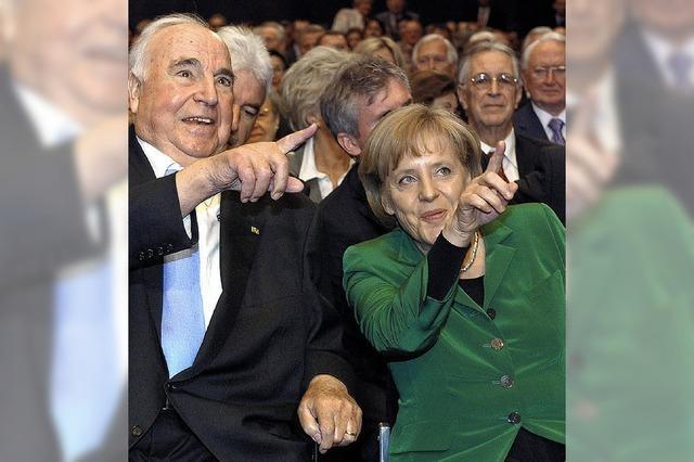 Der Name Merkel kommt ihm nicht über die Lippen