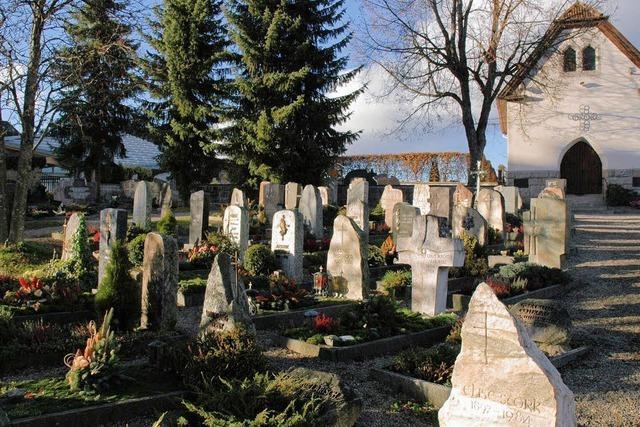 Regelungen auf Friedhof angepasst