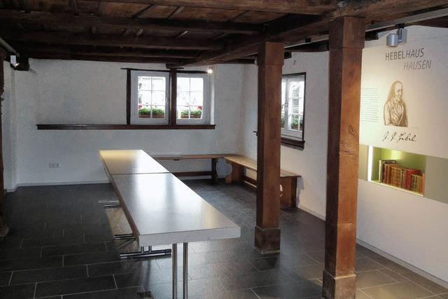 Das Literaturmuseum in Hausen wird eröffnet