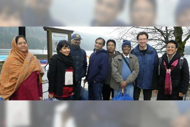Indische Experten lernen von Titisee