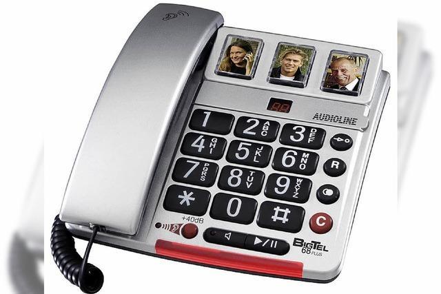 Seniorentelefon: Große Tasten und nicht hässlich