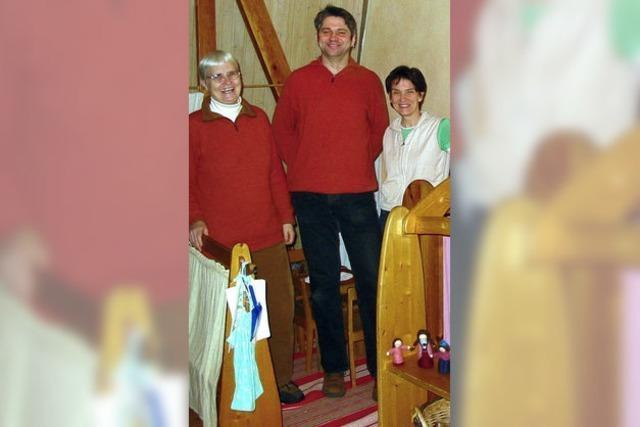 Waldorfkindergarten Nollingen ist bis heute familiär geblieben