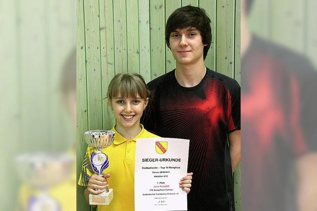 Erfolge für Jugend des TTC Schopfheim/Fahrnau