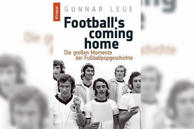 TASCHENBUCH: Der Fußball und die Musik