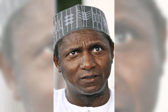 Nigerias Präsident Yar'Adua ist tot
