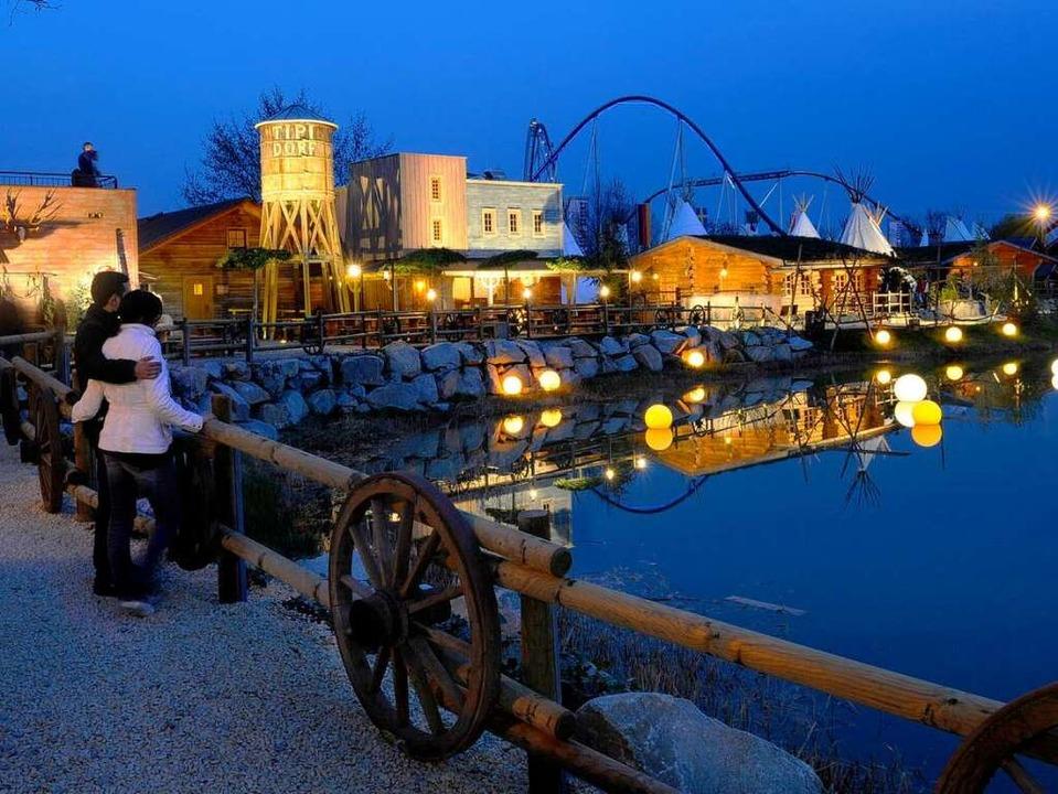 Wildwest-Romantik im neu gestalteten C...Parks, das am Dienstag eröffnet wurde.  | Foto: Europa-Park