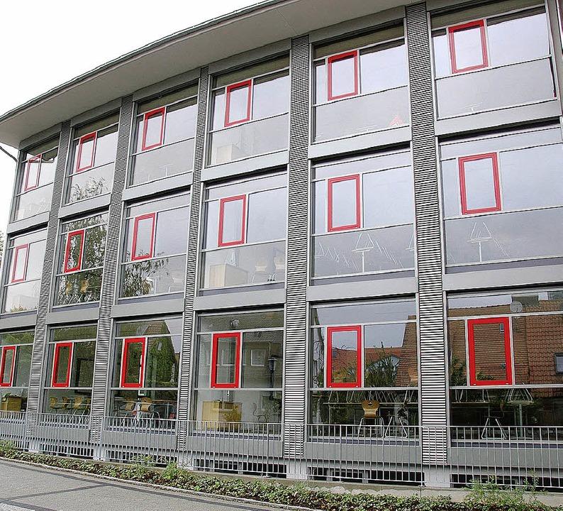 Anbau des Breisacher Martin-Schongauer-Gymnasium  | Foto: Christine Aniol