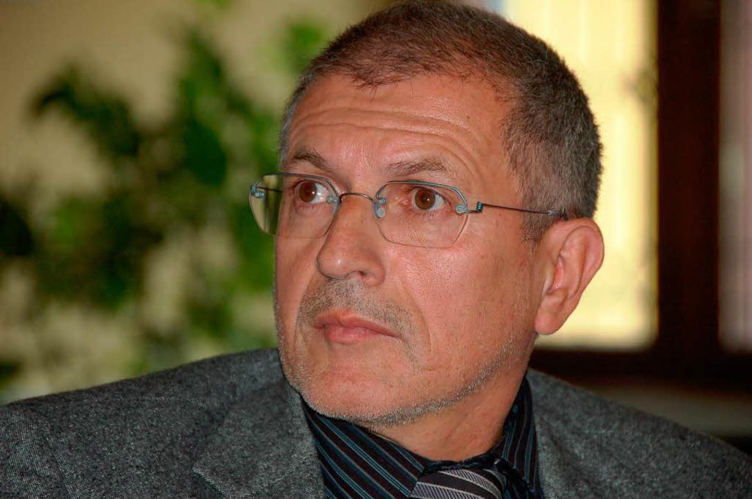 Fraktionschef Franz-Josef Winterhalter  | Foto: Markus Donner