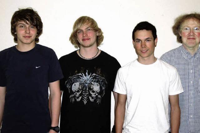 Fünf Nachwuchsbands auf der Bühne