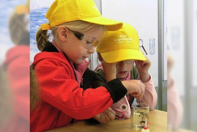 Junge Forscher entdecken die Welt