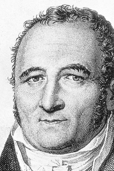 Johann Peter  Hebel  | Foto: dpa