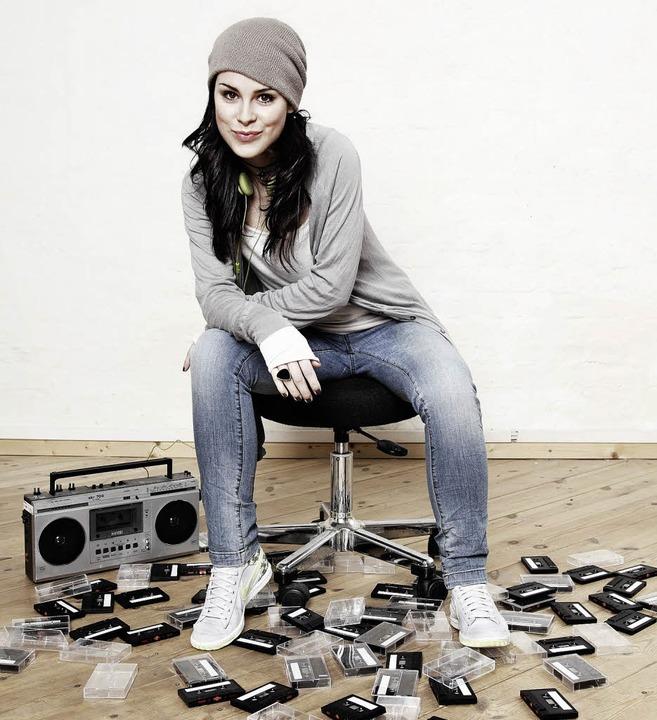 Kennt noch Kassetten:Lena  Meyer-Landrut  | Foto: pro