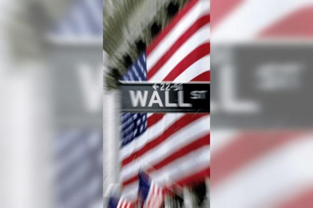 Wall Street spielt verrückt