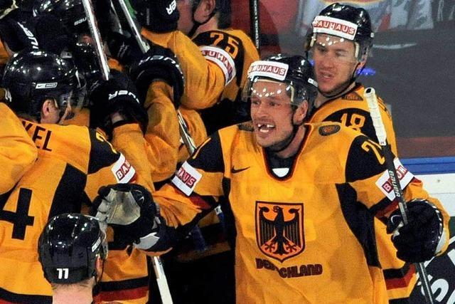 Eishockey: DEB-Team überrascht USA zum WM-Auftakt