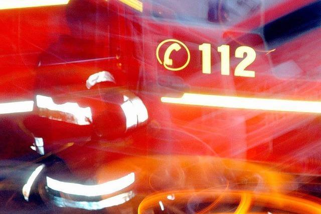 Brand im Scheffel-Gymnasium: 50.000 Euro Sachschaden