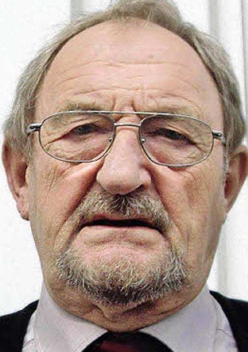 Heinz Roßhirt  | Foto: Verena Gutwein