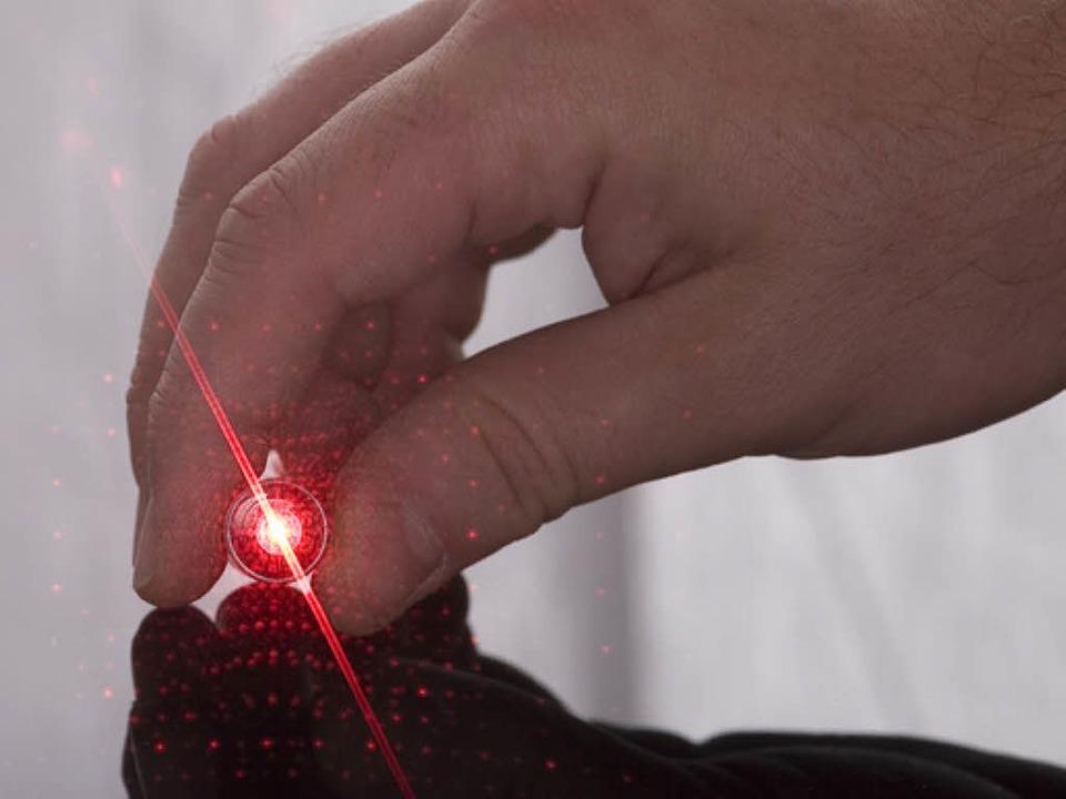 Laserpointer sind kein ungefährliches Spielzeug.    Foto: Fotolia
