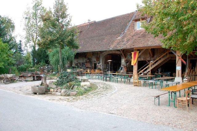 Der Kreiterhof Wollbach ist eine Weinschenke seit 200 Jahren