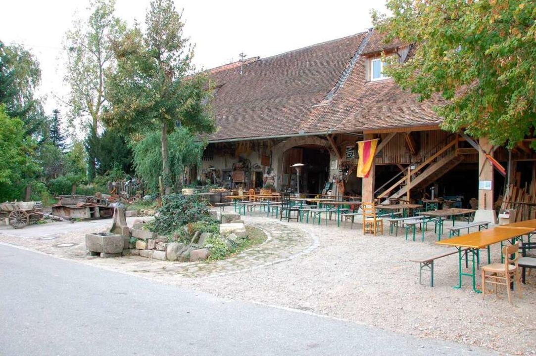 Der Kreiterhof Wollbach.  | Foto: Herbert Frey
