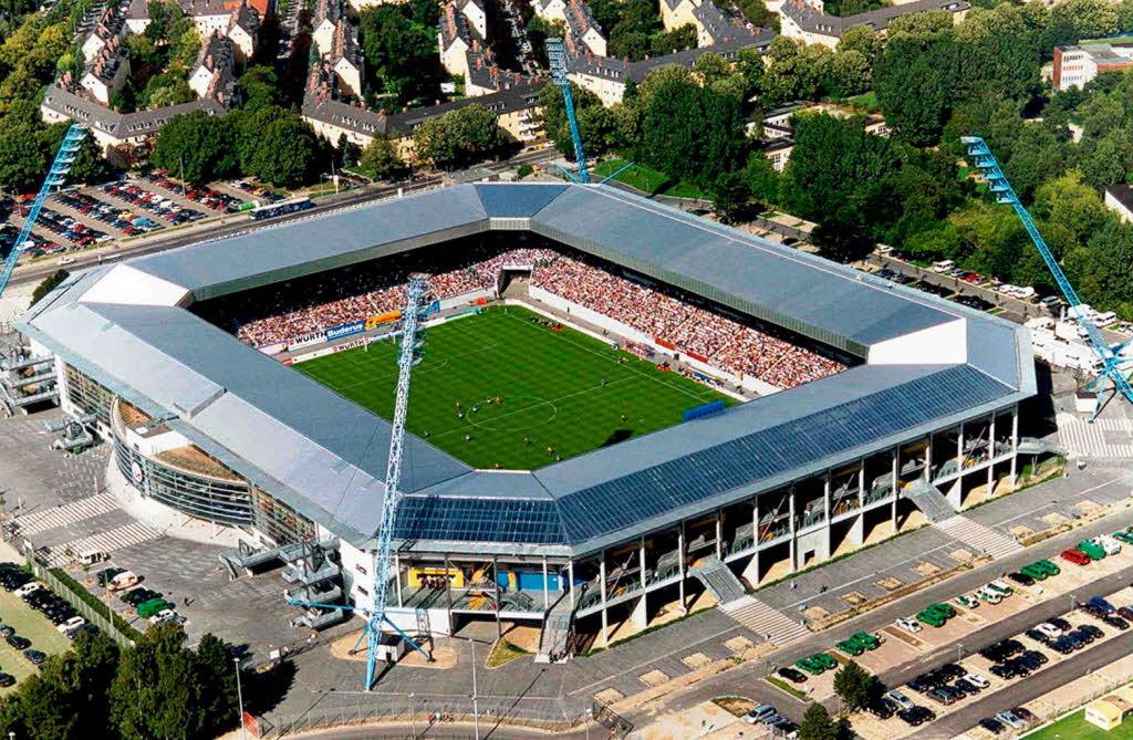 Ostseestadion in Rostock: Anzeigetafel nicht für alle ...