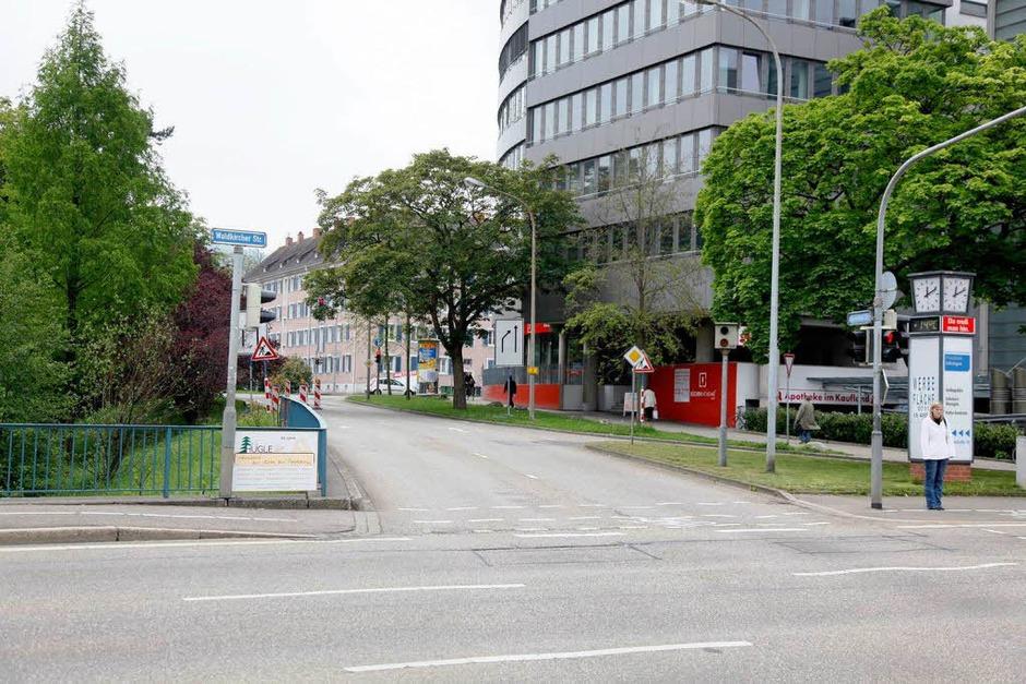 Isfahanallee/Waldkircherstraße: 210 Fälle. (Foto: Dominic Rock)