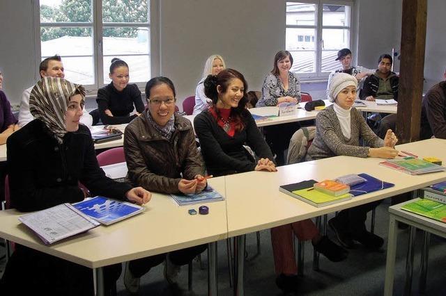 Volkshochschule bietet Integrationskurs