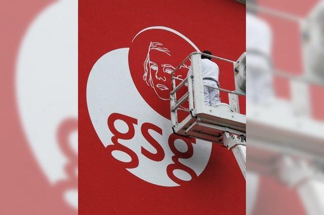 Logo mit Hans und Sophie Scholl am Gymnasium